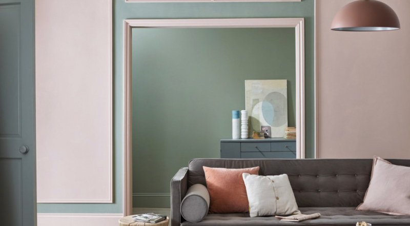 farrow and ball cool toned paint residential interior
